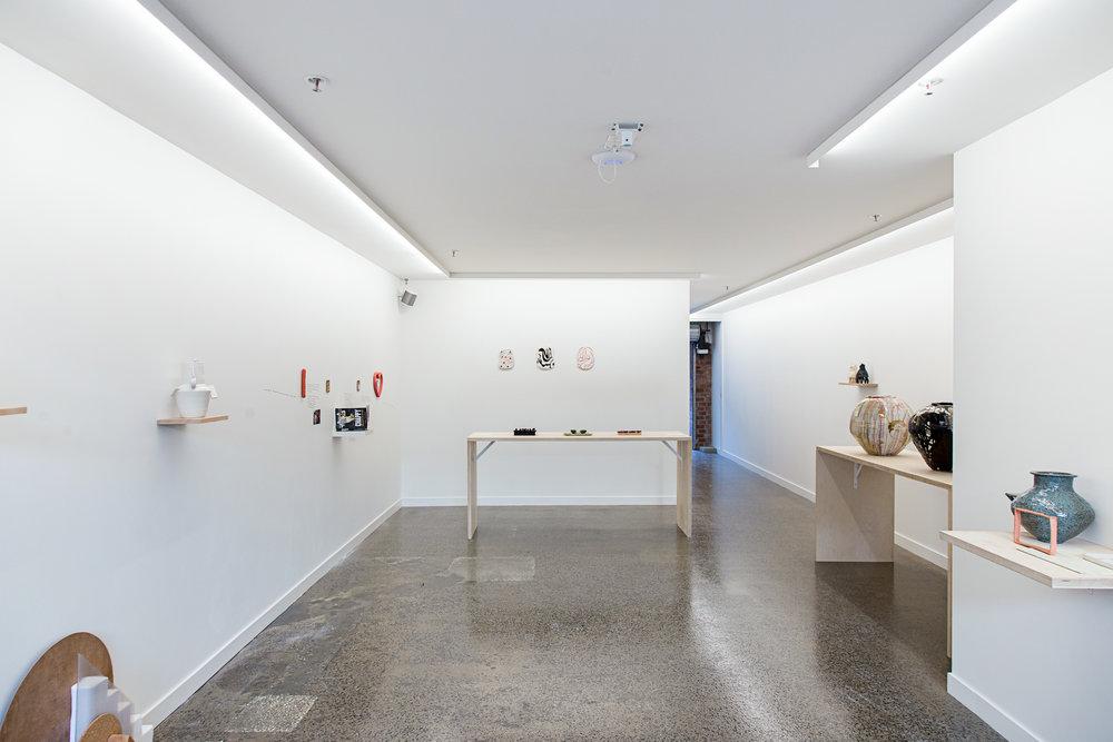 'Cooked'  ceramics exhibition at Lamington Drive