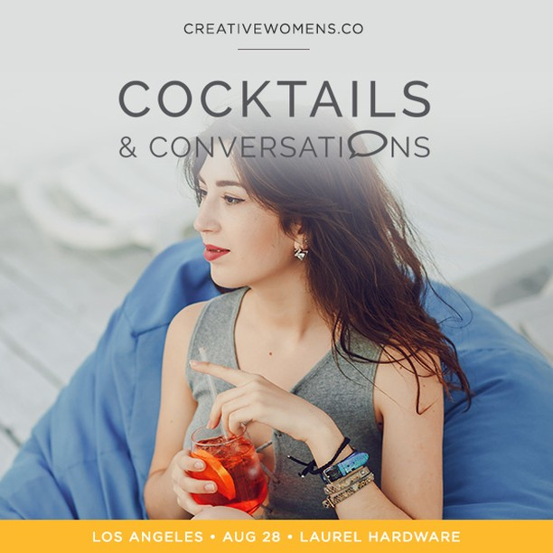 I'm so excited to announce that I will be hosting an event with Creative Women's Co. Thursday, August 23rd! Join us along with other creative women like yourself for our very special evening event Cocktails & Co. Bring your friend or come alone for a casual intimate networking at one of our favorite L.A. spots. For more details and registration visit    https://creativewomens.co/…/l-a-cocktails-conversations-cr…/