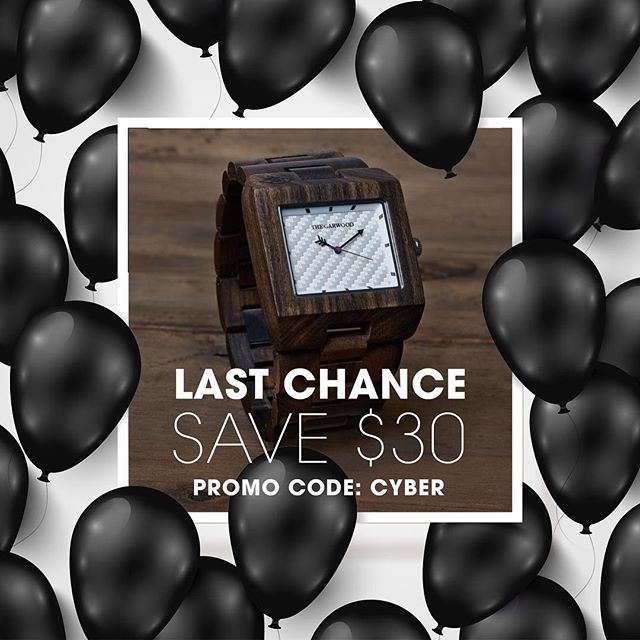 Last chance for $30 off / Cyber Monday Sale expires in 24 hours! #CyberWeekend