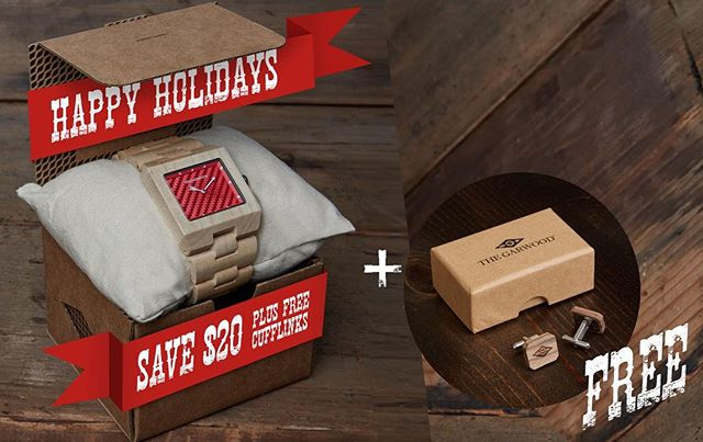 Happy Holidays! Save $20 on full collection + get a free set of cufflinks with any order. (Limited supply available)