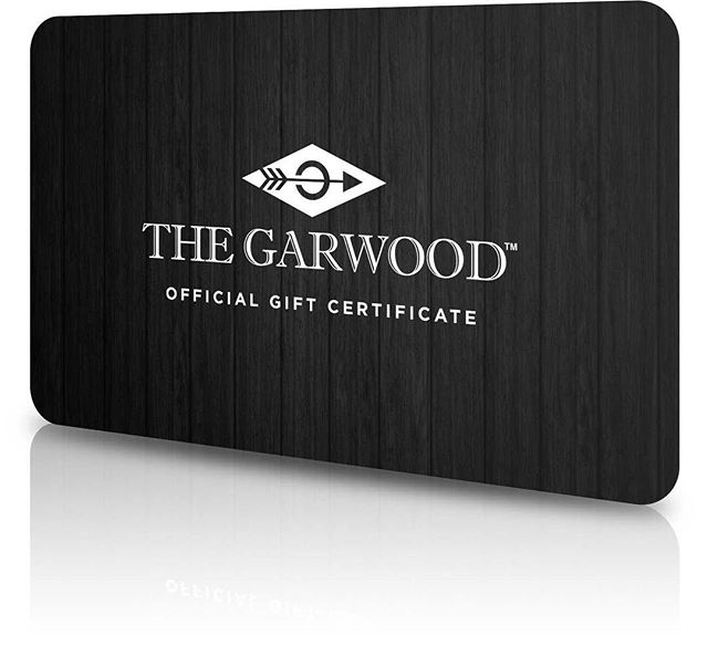 Need a last minute gift? Get a gift card delivered via email for any of our watches. Available at www.thegarwood.com