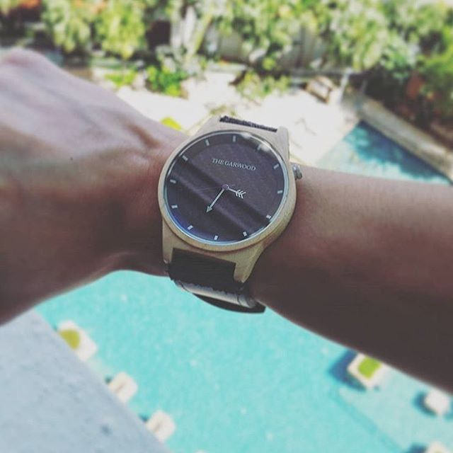 Around the world with #thegarwoodwatch today from #singapore with @woohooyinliang #woodwatch #thegarwood360 #showusyourgarwood