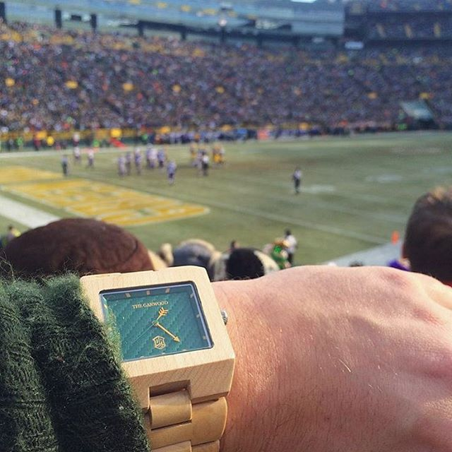 #showusyourgarwood courtesy of @lionirider #gopackgo #thegarwoodwatch #thegarwoodone7 #woodwatch #gametime #winning