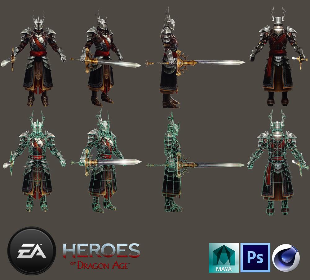 EA/ Model,texture for NPC_3