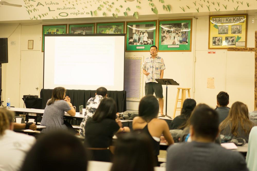 Sunday Service Sundays | 9:30 - 11:00 am  Ma'ema'e Elementary School 319 Wyllie St, Honolulu, HI 96817