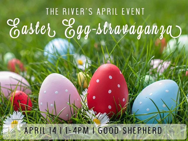Come Join Us for the River's April Event...though Easter has already come doesn't mean we can't enjoy the activities we see the kids partake in. The more eggs you find the greater chance of winning a prize. Bring ur bibles as we will also be studying Hebrews 3:1-4:13. :D #newsongrivergals #likechildren #aprilevent