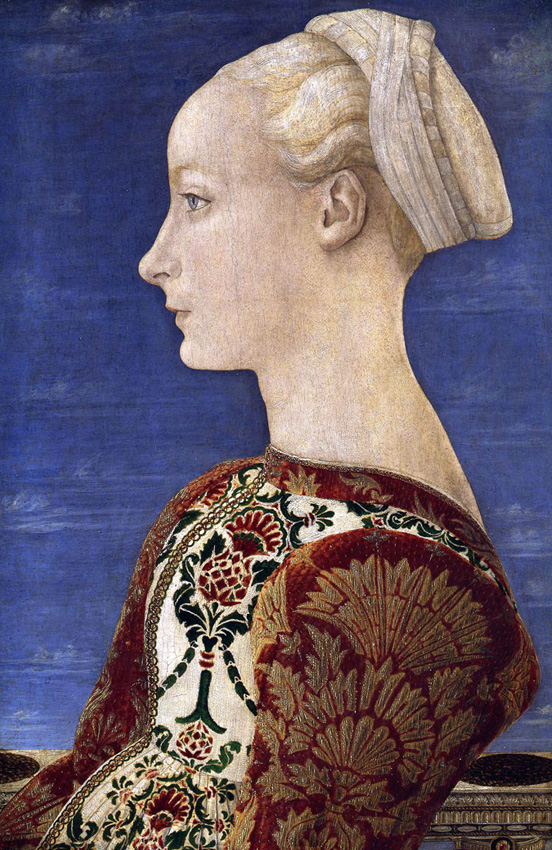Antonio del Pollaiuolo , Portrait of a Young Lady , c. 1465