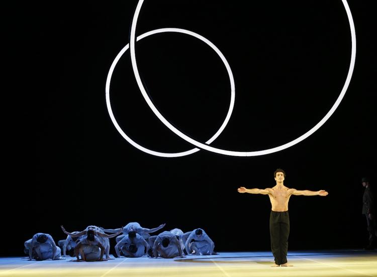 Alexandre Riabko with The Australian Ballet in  Nijinsky , photographed by Jeff Busby
