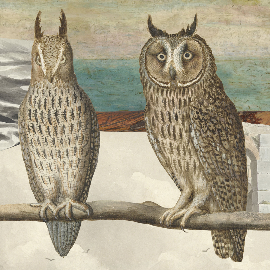 """If you were an owl . If I were an owl. (But a tenth of a whole. With a part of a unicorn horn.  The unicorn horn , c. 1000 – c. 1099, """"appeared on Catholic feast days on the high altar of the Mariakerk, Utrecht. Candlesticks were placed on their pointed ends. People believed the horns were those of a unicorn, a mythical creature then regarded as a symbol of the Virgin's chastity. They are, in actual fact, the teeth of a narwal.""""—  #rijksmuseum )"""