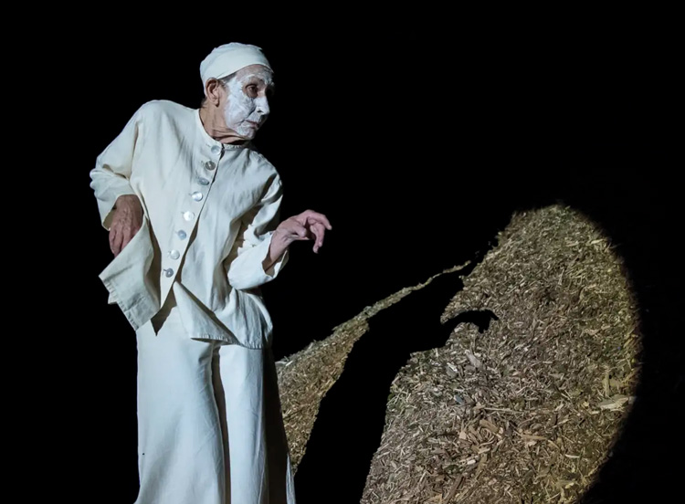 Jill Orr,  Dark Night , 2019, photographed by Gregory Lorenzutti
