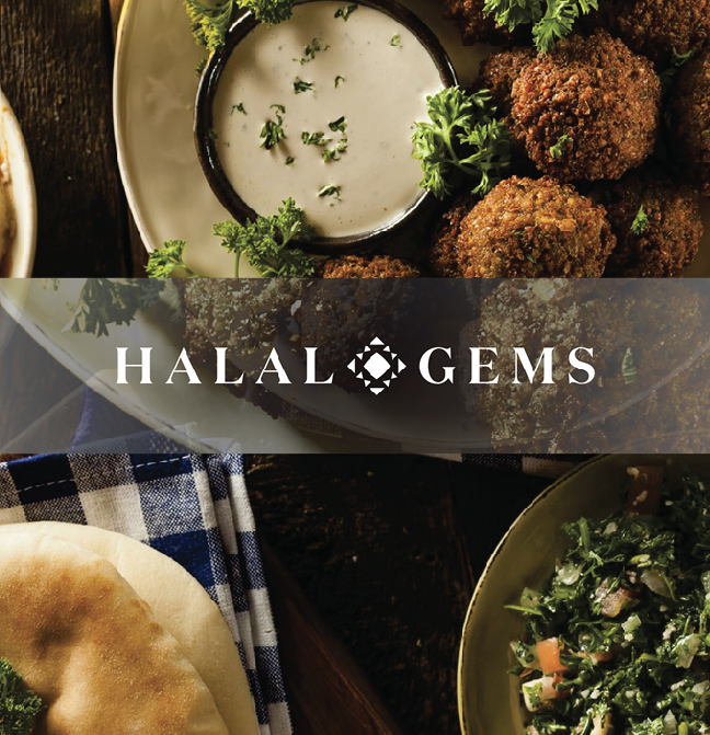 How might we connect sophisticated Muslim foodies?