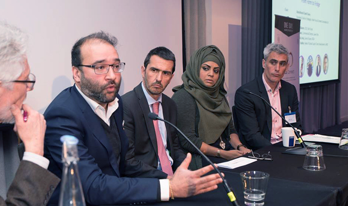 Panel on the halal food industry. Photo: MLE Connect