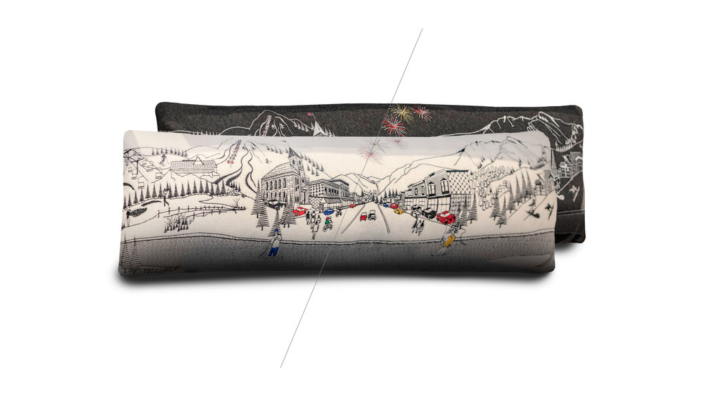 Custom Telluride Main Street Pillows -