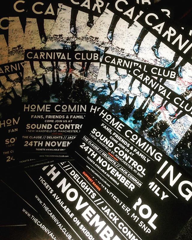 THE BOYS ARE BACK IN TOWN! Head over to @thecarnivalclub website to get your tickets!!!