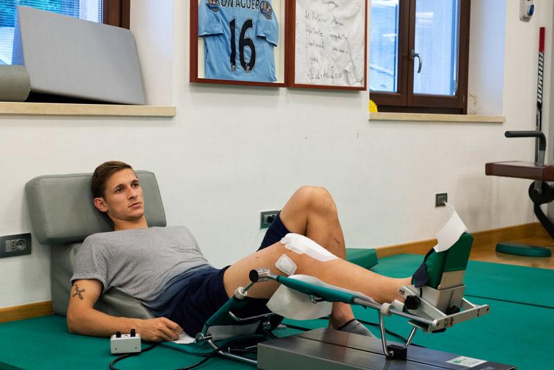 <p><strong>Medicina dello sport</strong> <a href=/medico-dello-sport/>Scopri di più</a></p>