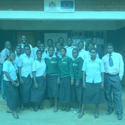 2011-WAM selects its first students from Kabudula Community Day Secondary School to receive scholarships. -