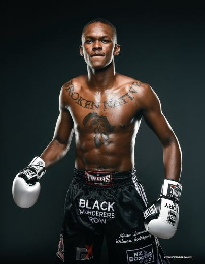 Israel Adesanya. Source: Sky Sport the Magazine, November, 2014.
