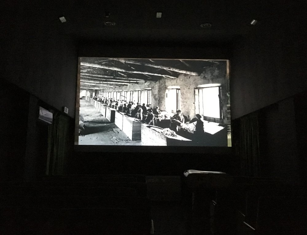 Installation Shot Interior / Cinema Room