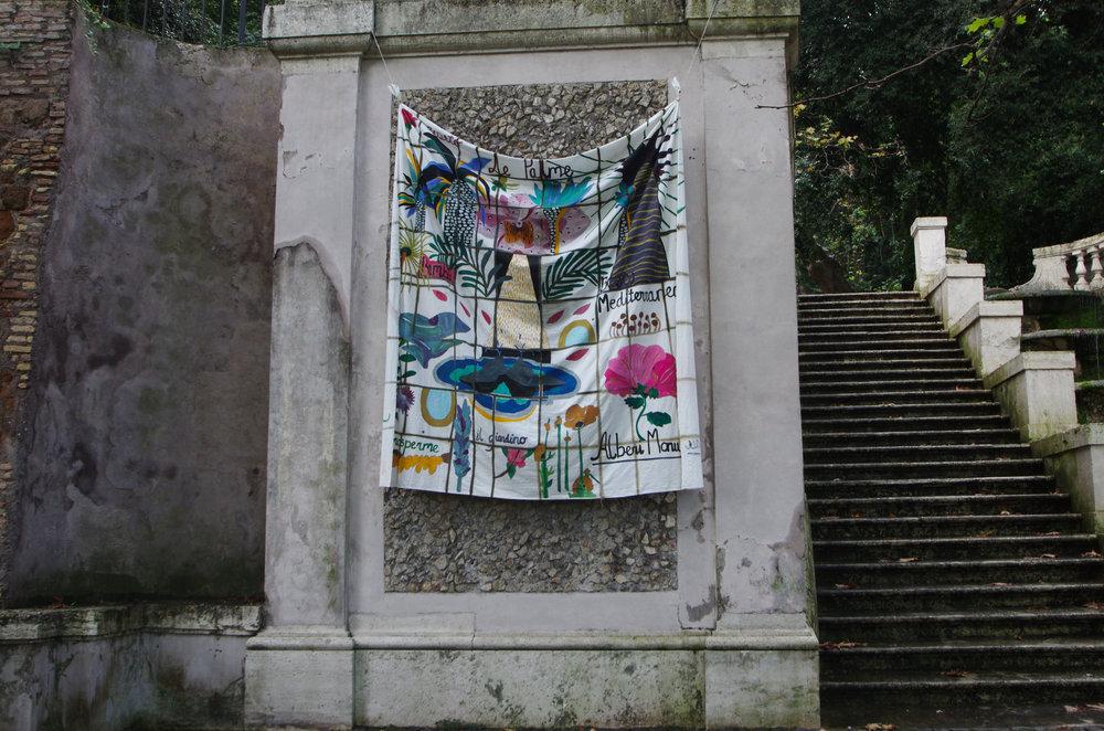 'Roseto', Installation shot