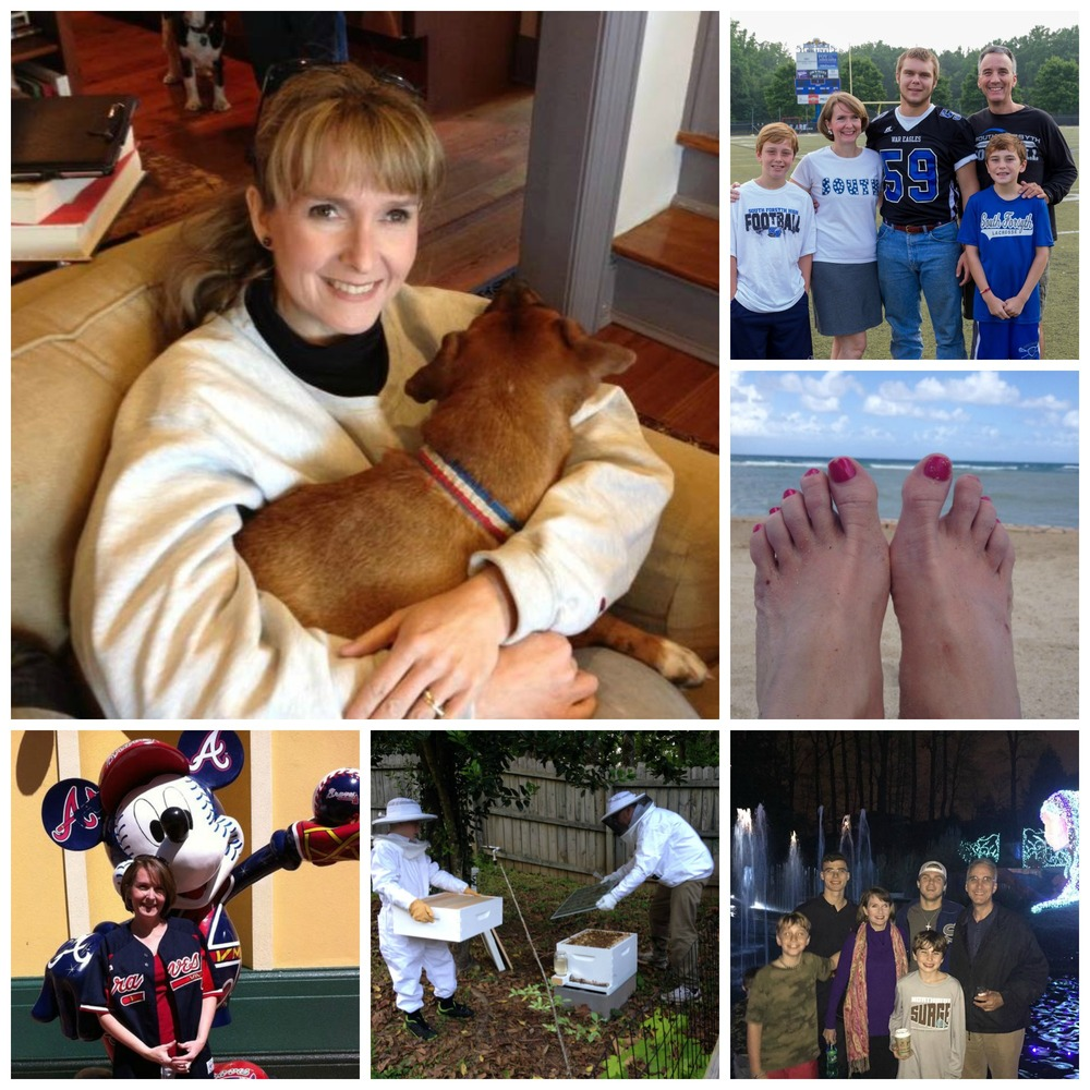 Marybeth loves her family, the Braves, bees and the beach.