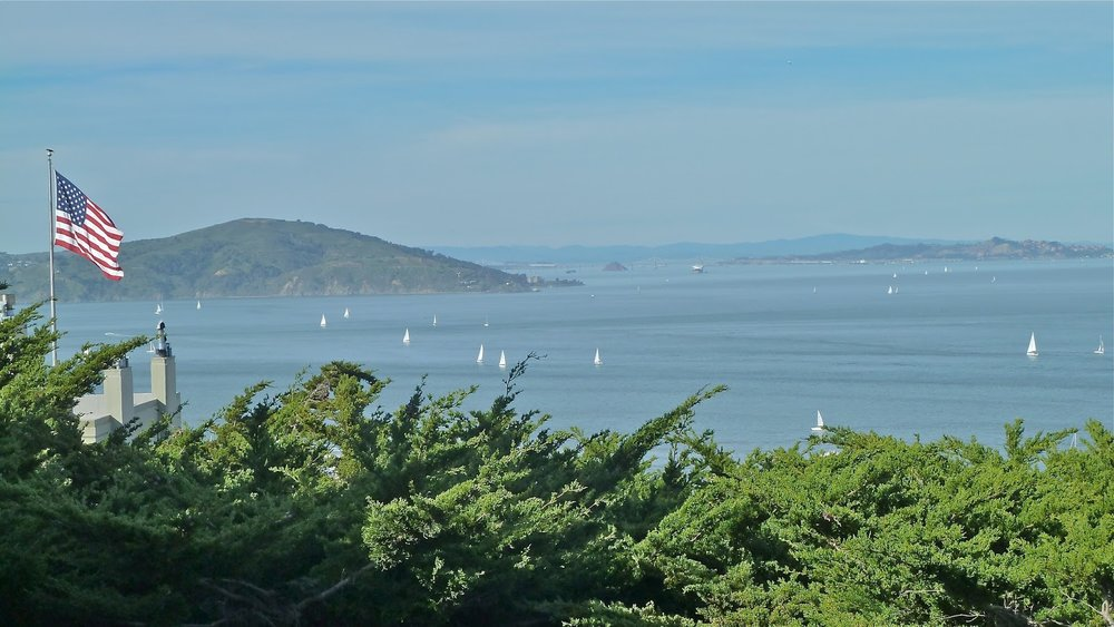 San Francisco Bay from Telegraph Hill