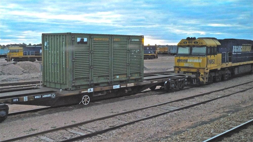 Port Augusta rail yards