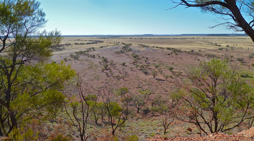 View from Scrammy Lookout, Bladensburg National Park, Central West Queensland
