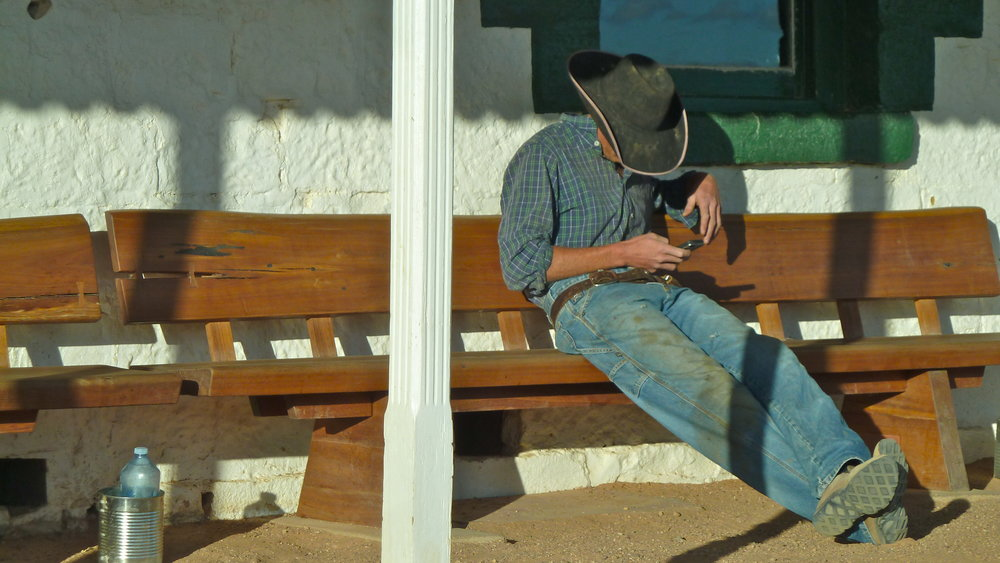 'Cowboy', Birdsville Hotel, Far Western Queensland
