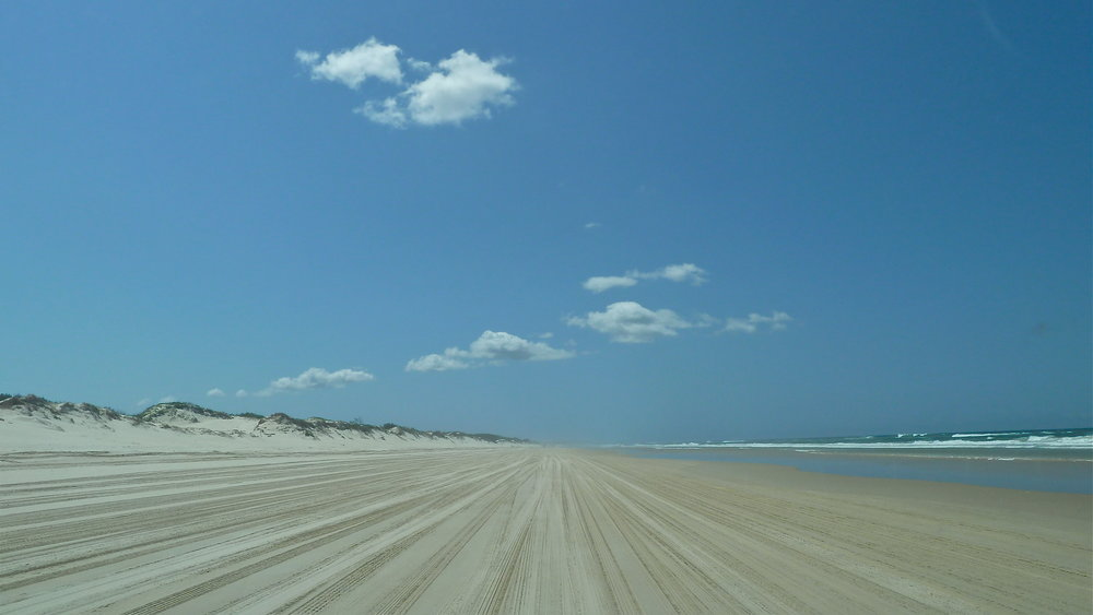 Main Beach, North Stradbroke Island, Queensland