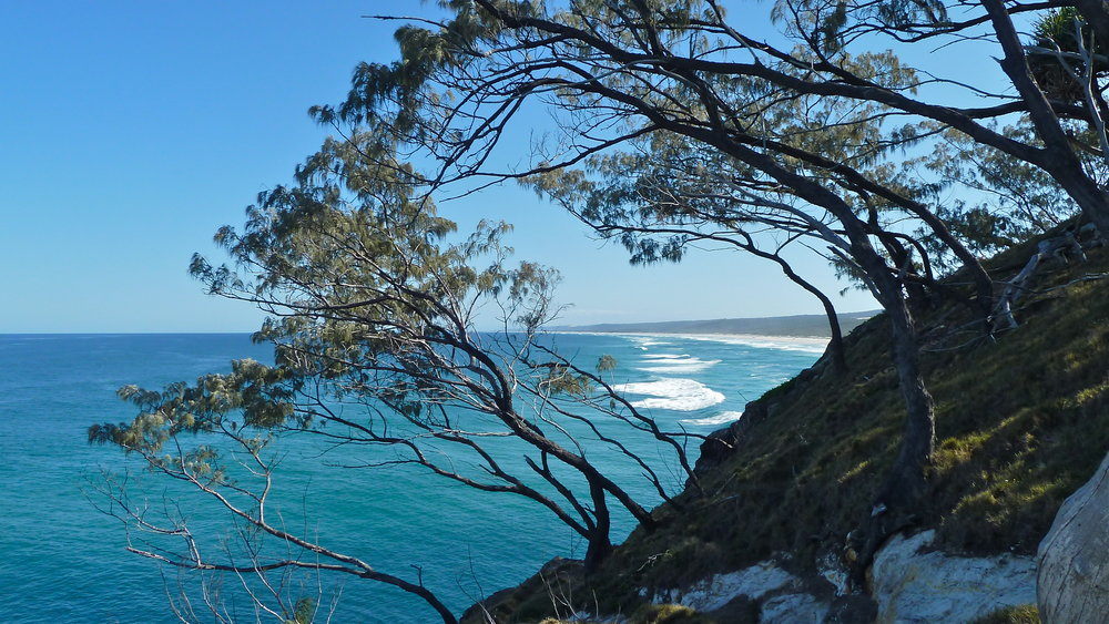 Main Beach from Gorge Walk, Point Lookout, North Stradbroke Island, Queensland