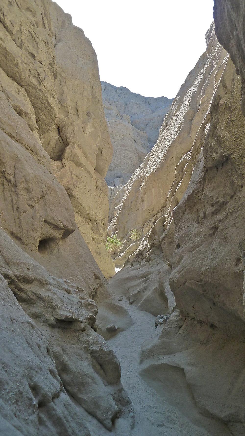 Slot canyons…