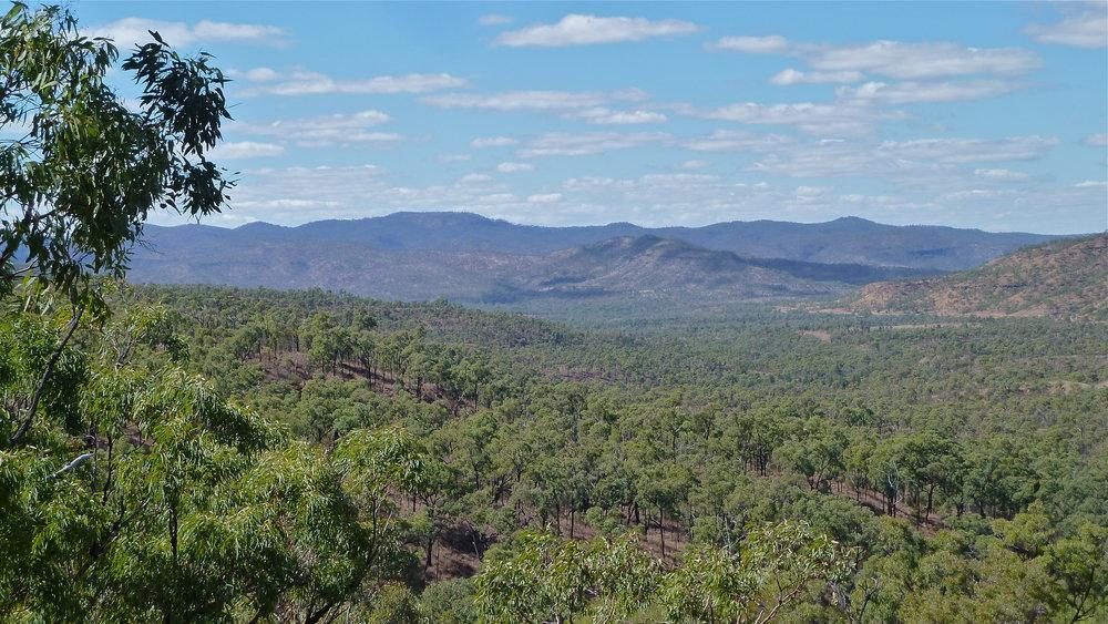 Drummond Range, west of Emerald, Central Queensland