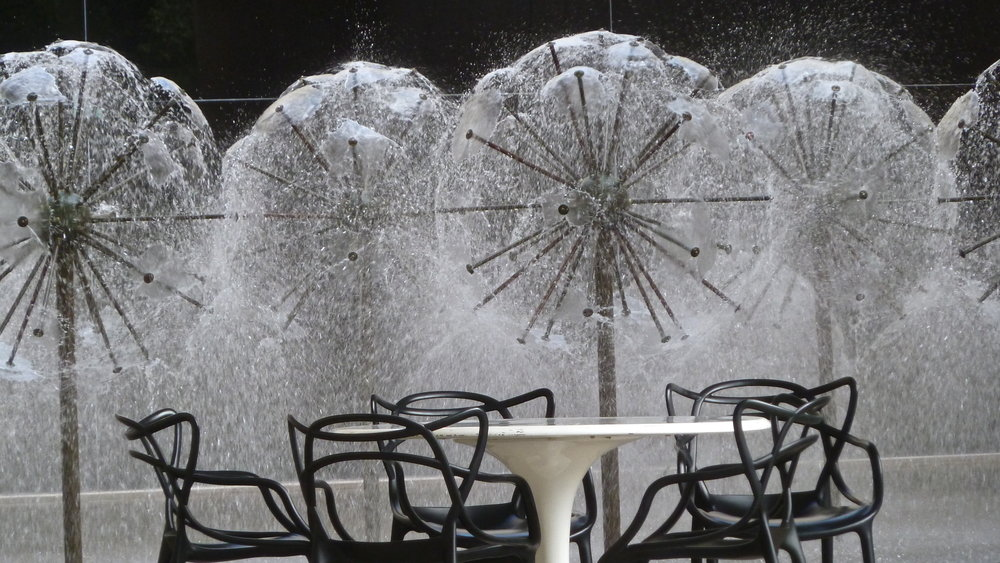 My favourite fountain, at Queensland Art Gallery