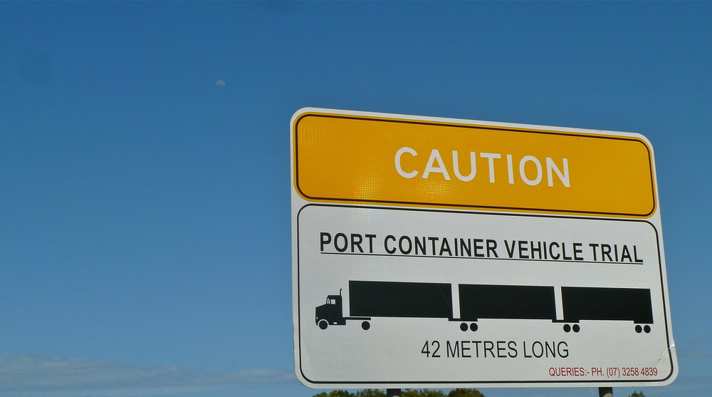 42-metres-long port container vehicles are innocent