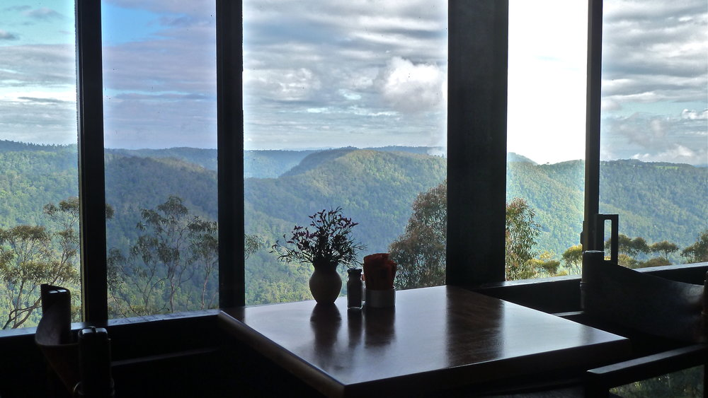 Apr:  Binna Burra Mountain Lodge, Queensland