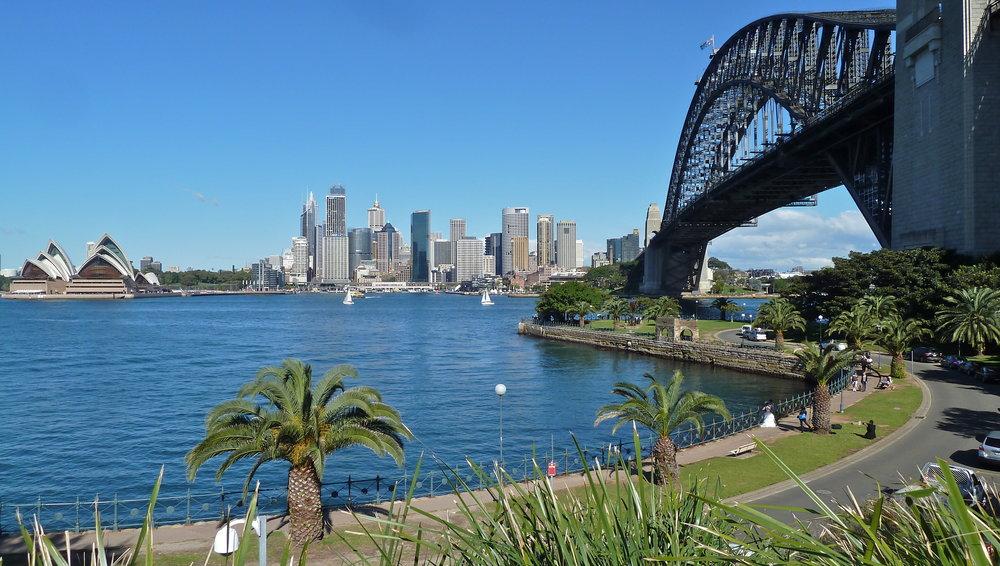 Jul:  Sydney CBD from Milsons Point, North Shore