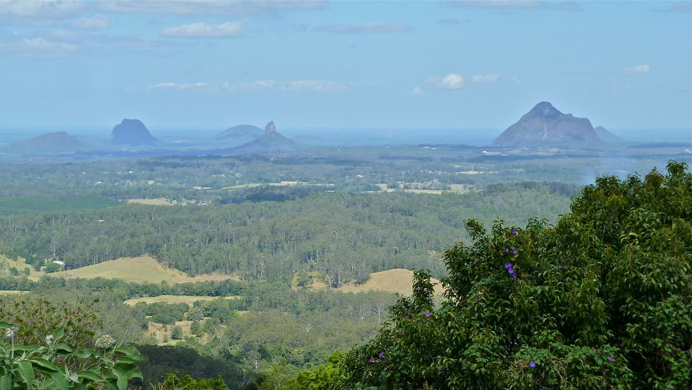 Sep:  Glass House Mountains, Queensland
