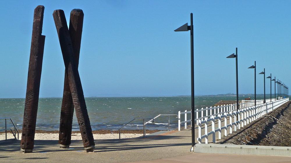 Oct:  Wynnum Pier, Moreton Bay, Queensland