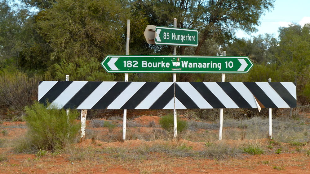 Any mention of Bourke = Outback
