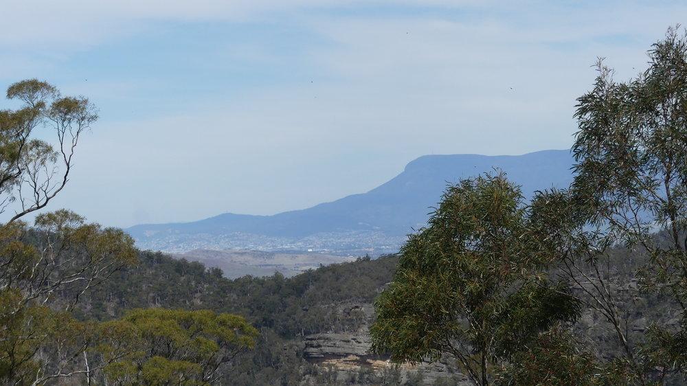 Looking towards Mount Wellington