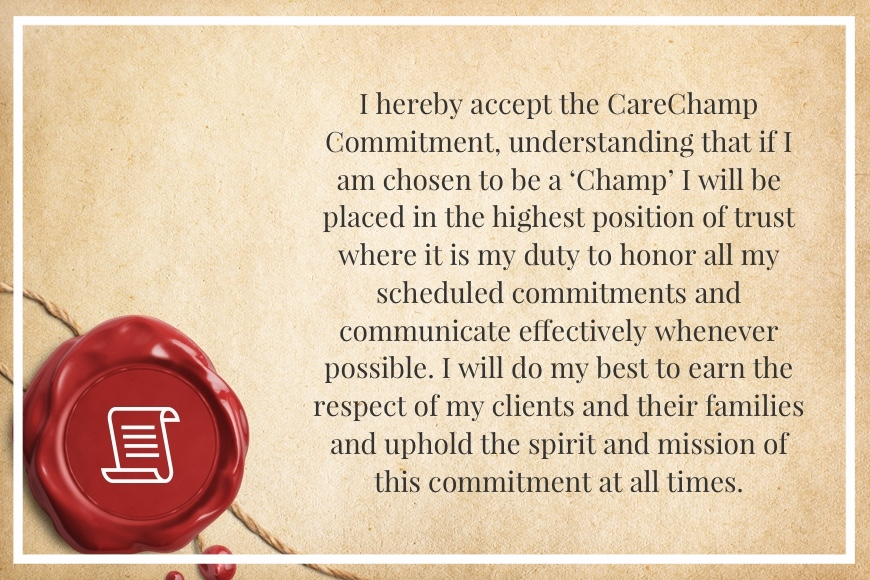 CareChamp Commitment
