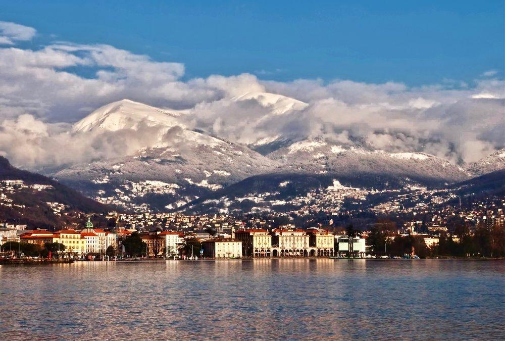Lake promenade Ascona