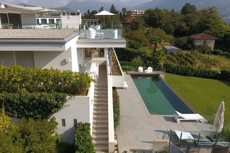Modern Villa in Lugano for sale, Click the image for more information