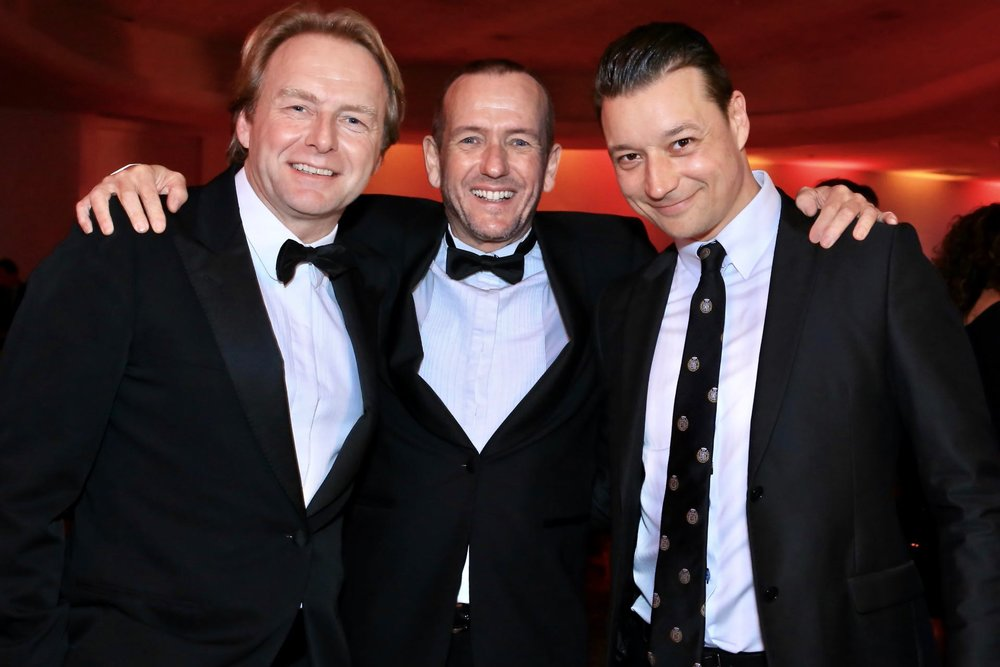 Wetag Consulting's owners Philipp Peter & Ueli Schnorf and the Marketing & PR Manager Kevin Quast