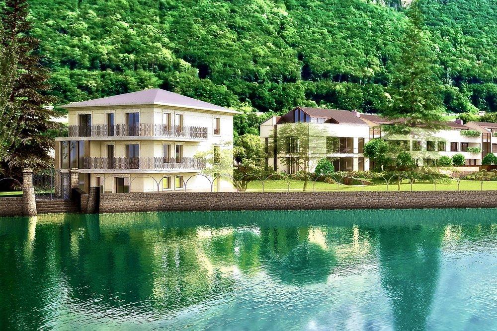 Neubauvillen am Lago di Lugano