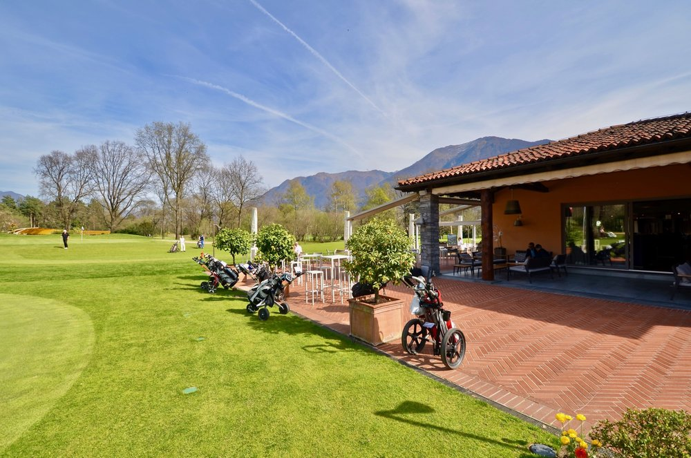 Golf Restaurant Bucadiciannove in Ascona Switzerland