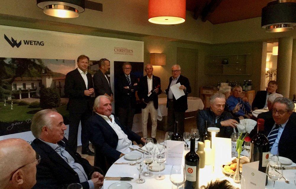 Urs Ries, Seniors captain golf Ascona