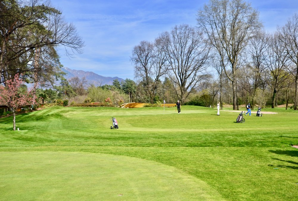 Golf Ascona at Lake Maggiore