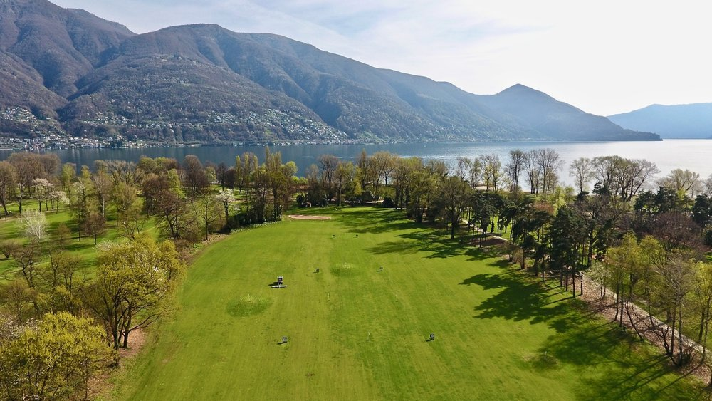 Golf Patriziale right on the lake Maggiore in Ascona