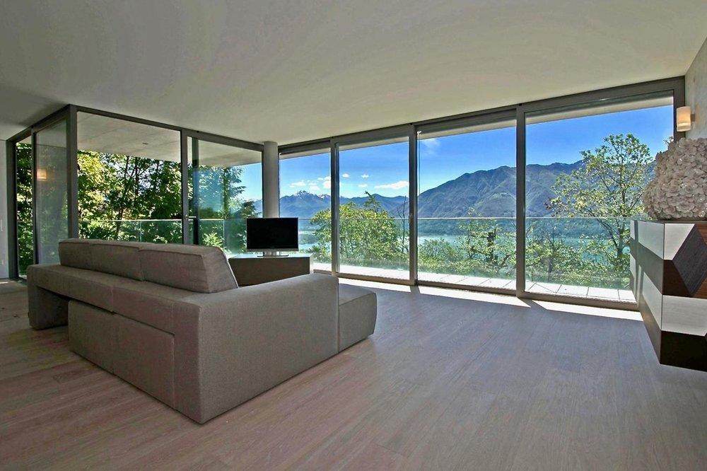 Luxury apartment lake Maggiore, Switzerland for sale